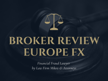 EuropeFX fined €370.000 by an European Financial Authority