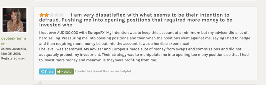 europefx review | forex peace army thread 1 - screen capture from forex peace army - mikov & attorneys