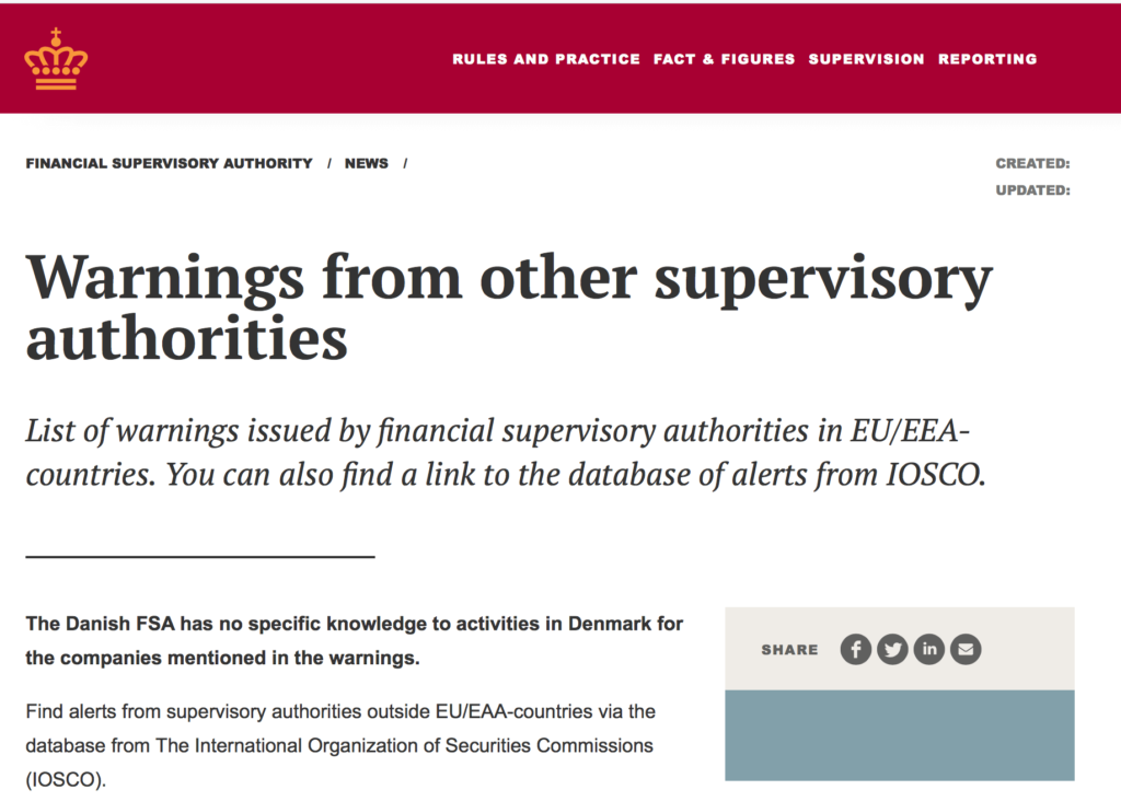 fxpace review | danish financial supervisory authority issues warning on salvax limited| financial fraud lawyer | mikov & attorneys |